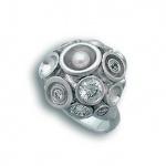 Сребърен пръстен с Камък 1614957-Пръстени