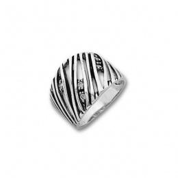 Сребърен пръстен с Камък 1615936-Пръстени