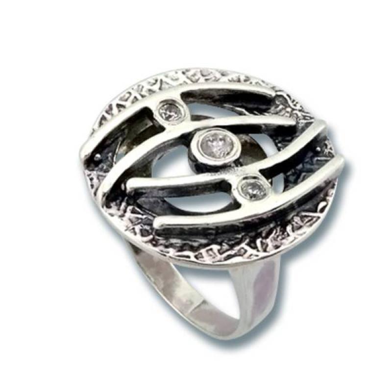 Сребърен пръстен с Камък 1595844-Пръстени
