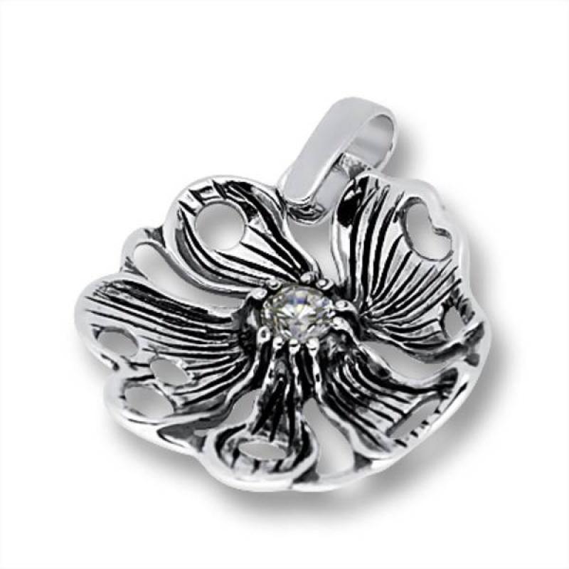 Сребърен медальон с Камък 182861-Медальони
