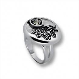 Сребърен пръстен с Камък 1595860-Пръстени