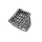 Сребърен пръстен без камък 1505937-Пръстени