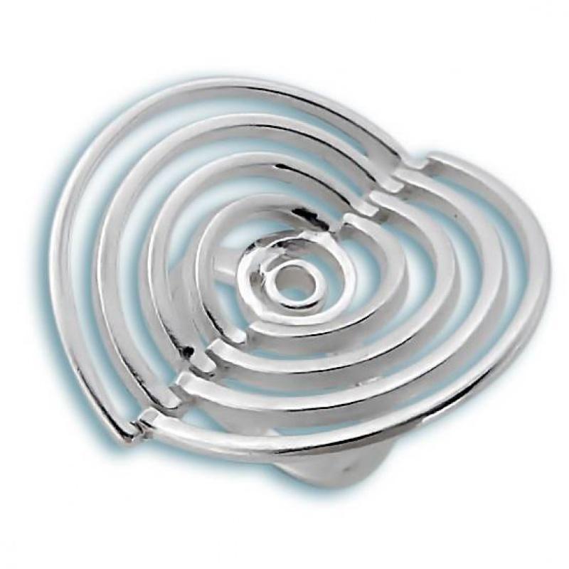 Alba - Сребърен пръстен без камък 1535810-Пръстени