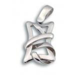 Сребърен медальон без Камък 172757-Медальони