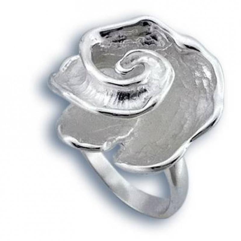 Сребърен пръстен без камък 1505794-Пръстени