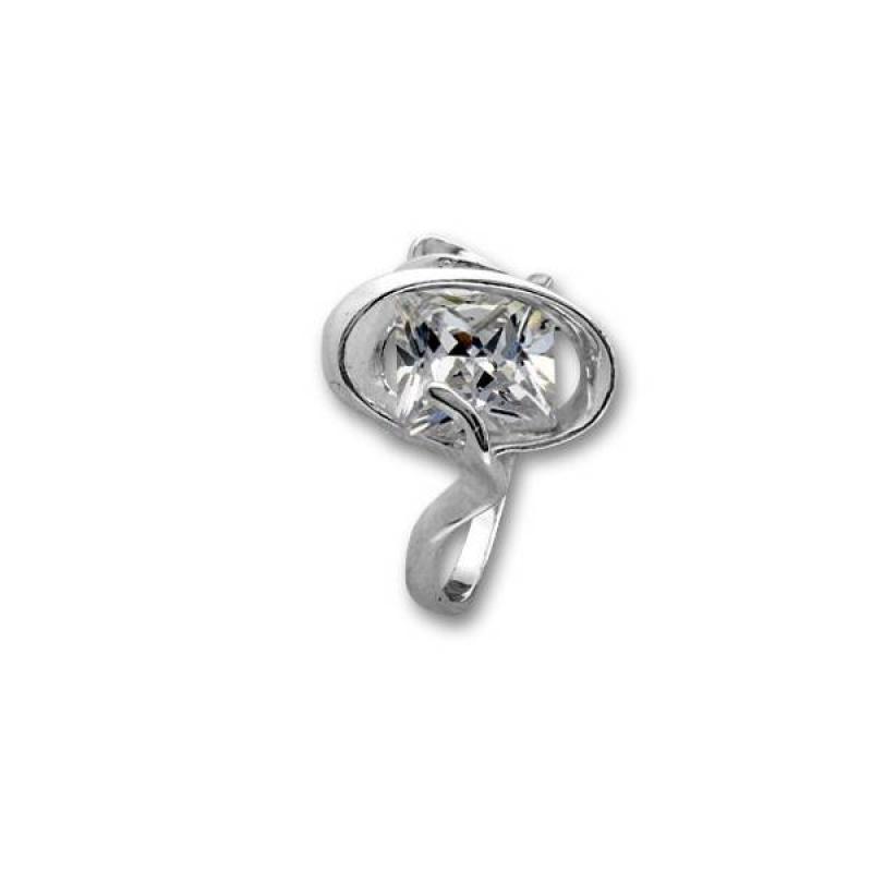 Сребърен пръстен с Камък 1605932-Пръстени