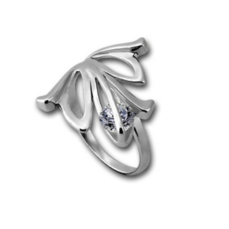 Сребърен пръстен с Камък 1605871-Пръстени