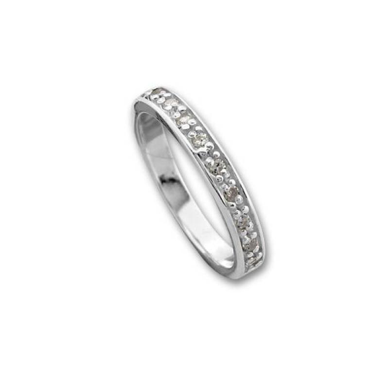 Сребърен пръстен с Камък 1625223-Пръстени