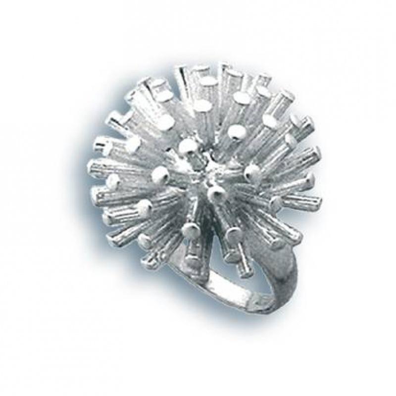 Сребърен пръстен без камък 1514947-Пръстени