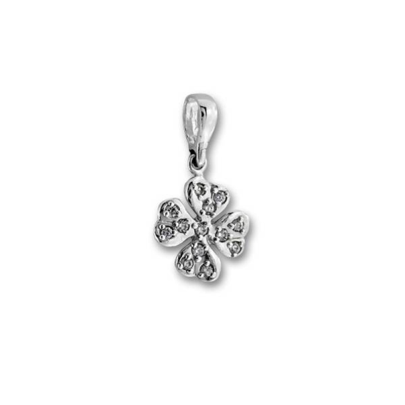 Сребърен медальон с Камък 186515-Медальони
