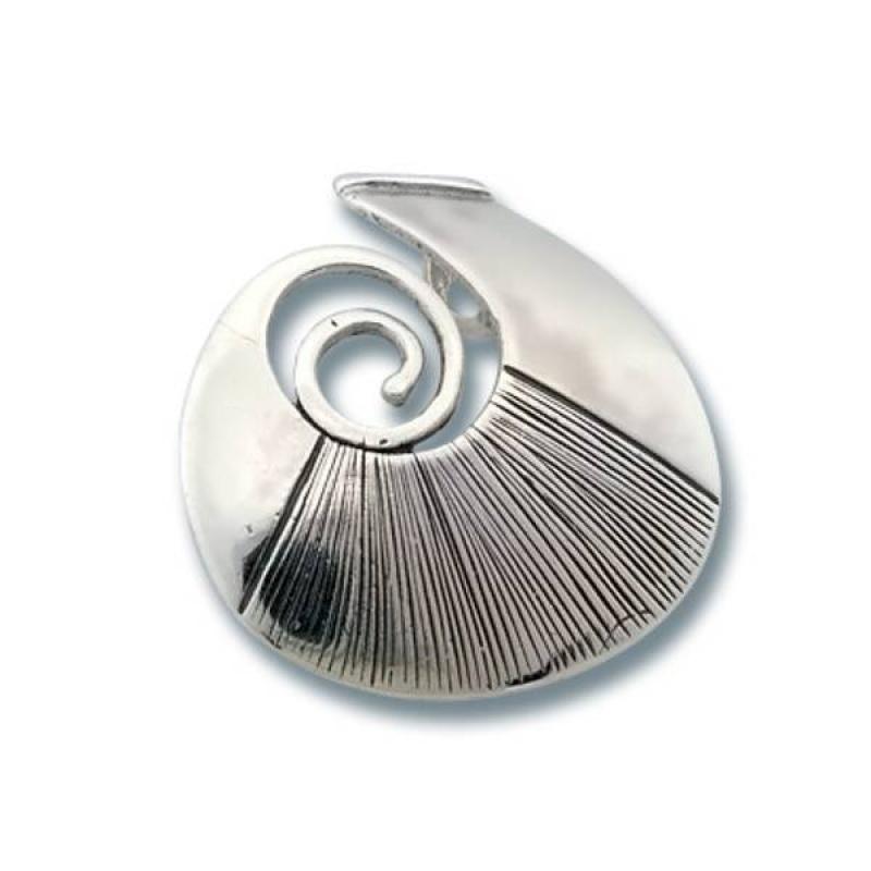 Сребърен медальон без Камък 180832-Медальони