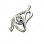 Сребърен пръстен с Камък 1625825-Пръстени