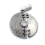 Сребърен медальон с Камък 182830-Медальони