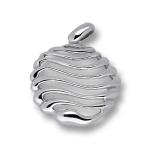 Сребърен медальон без Камък 172858-Медальони