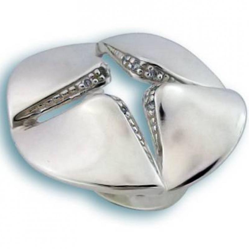 Сребърен пръстен с Камък 1585768-Пръстени