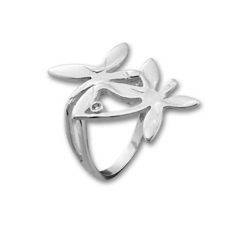Сребърен пръстен с Камък 1595929-Пръстени