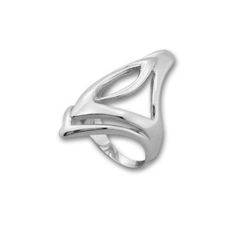 Сребърен пръстен без камък 1545227-Пръстени