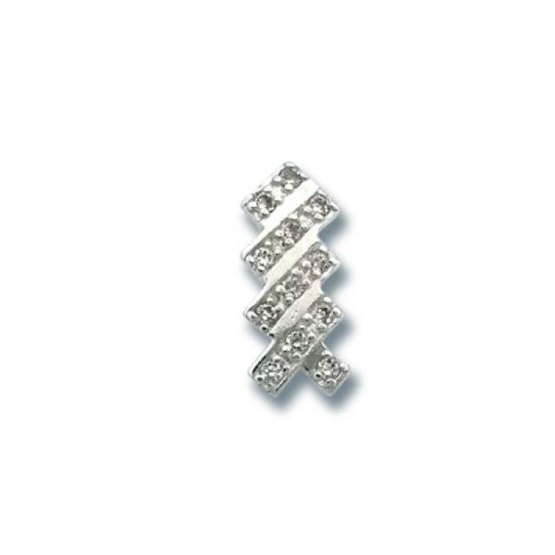 Сребърен медальон с Камък 186828-Медальони
