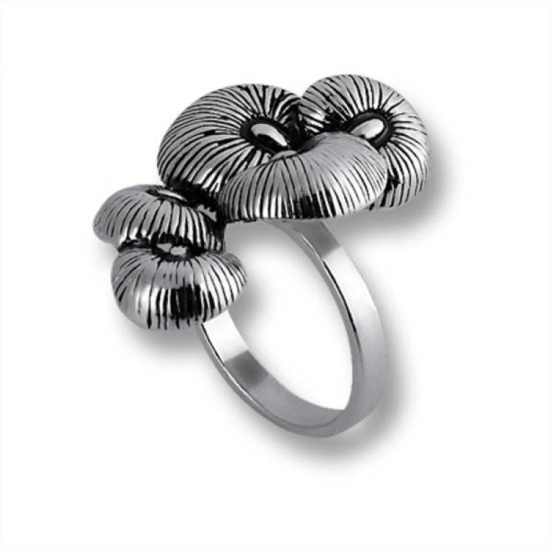 Federica - Сребърен пръстен без камък 1515854-Сребърни бижута