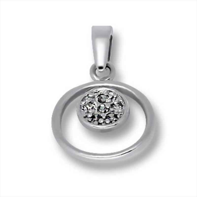 Сребърен медальон с Камък 186446-Медальони