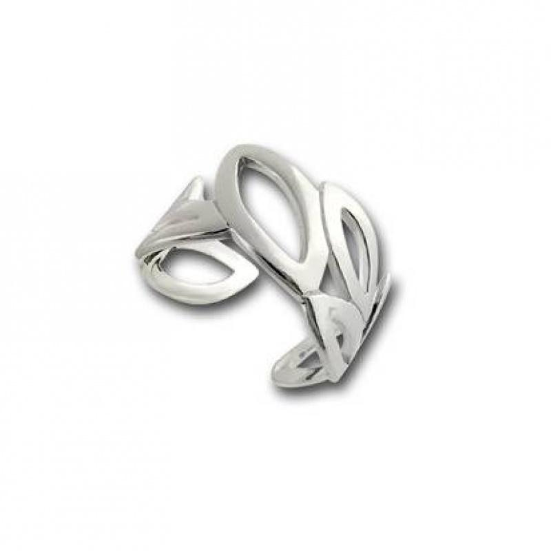Сребърен пръстен без камък 1545815-Пръстени