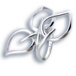 Сребърен пръстен без камък 1545783-Пръстени