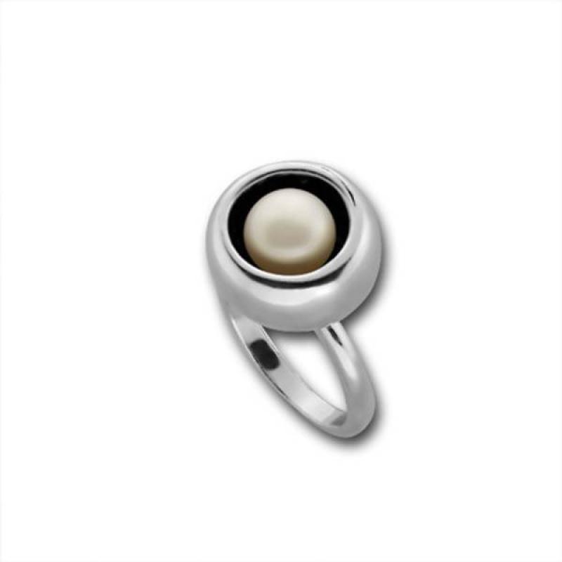 Verginia Сребърен пръстен с перла 1705868-Пръстени