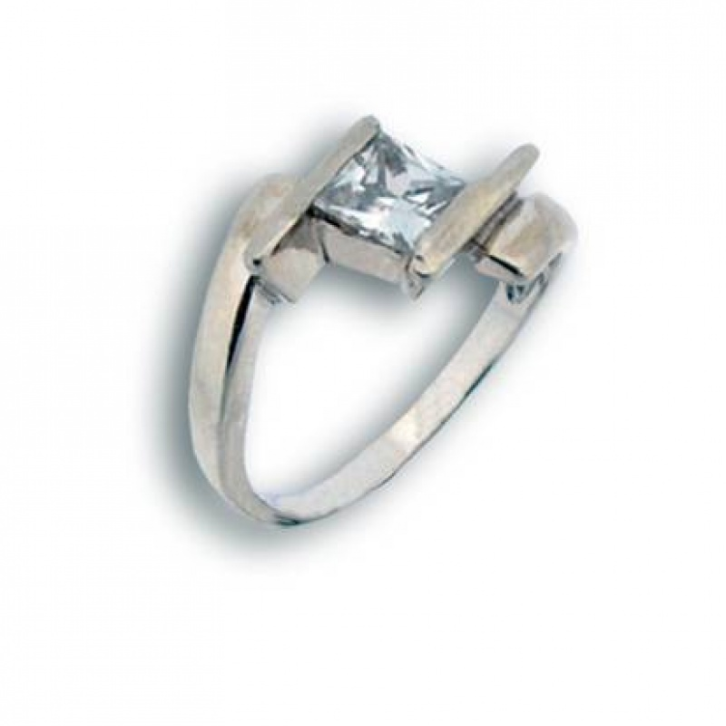 Сребърен пръстен с Камък 1594687-Пръстени