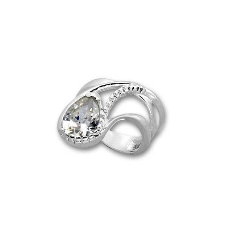 Сребърен пръстен с Камък 1595234-Пръстени