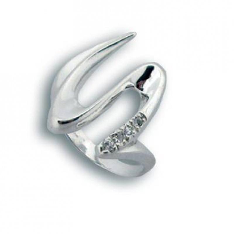 Сребърен пръстен с Камък 1594676-Пръстени