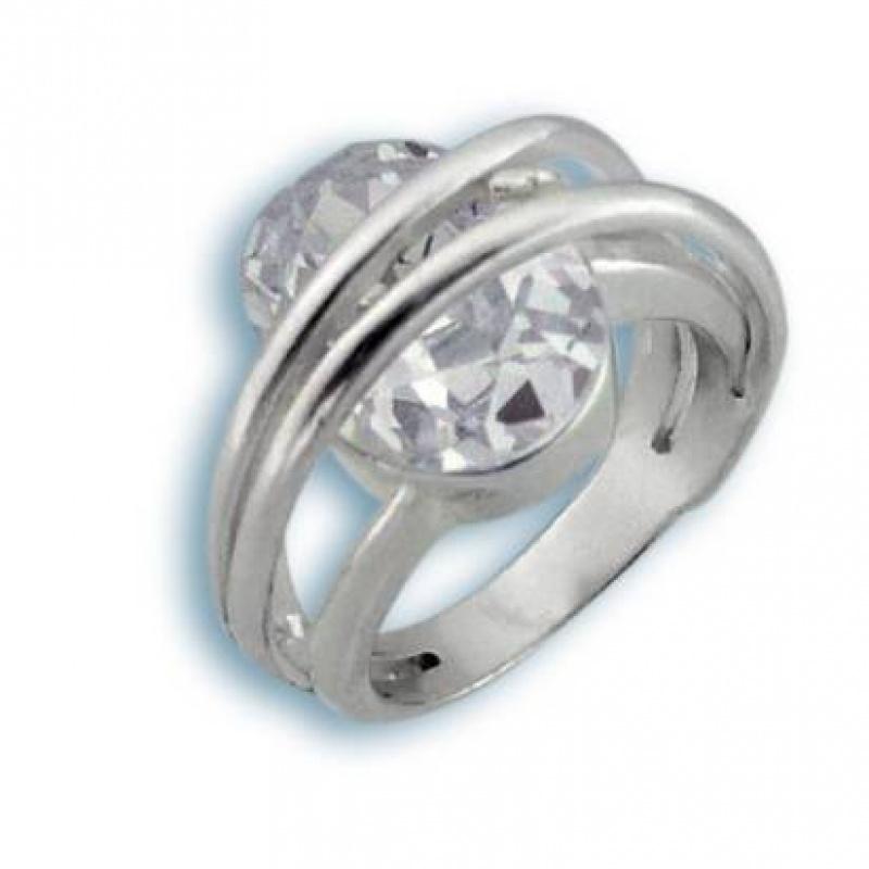 Сребърен пръстен с Камък 1585180-Пръстени