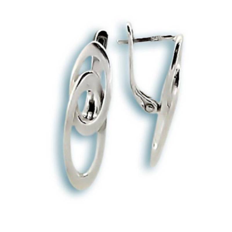 India - Сребърни обеци без Камък 133802-Всички обеци