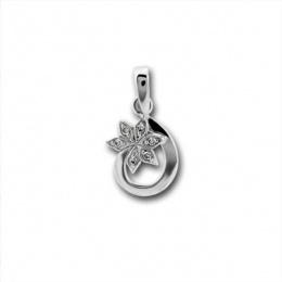 Сребърен медальон без Камък 186458-Медальони