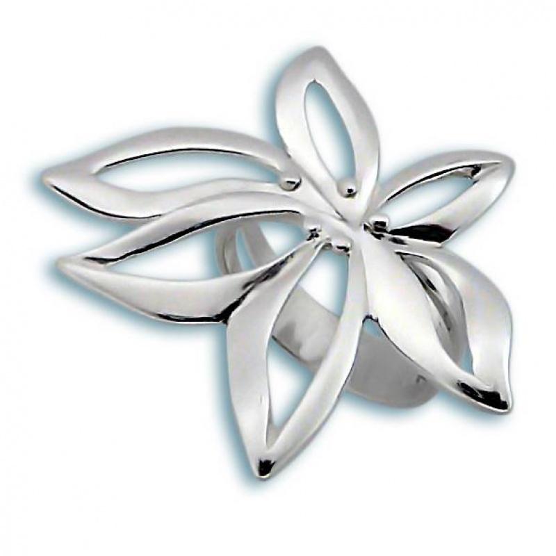 Сребърен пръстен без камък 1515808-Пръстени