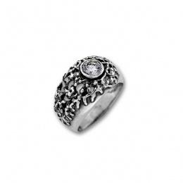 Сребърен пръстен с Камък 1595966-Пръстени
