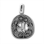 Сребърен медальон без Камък 172877-Медальони