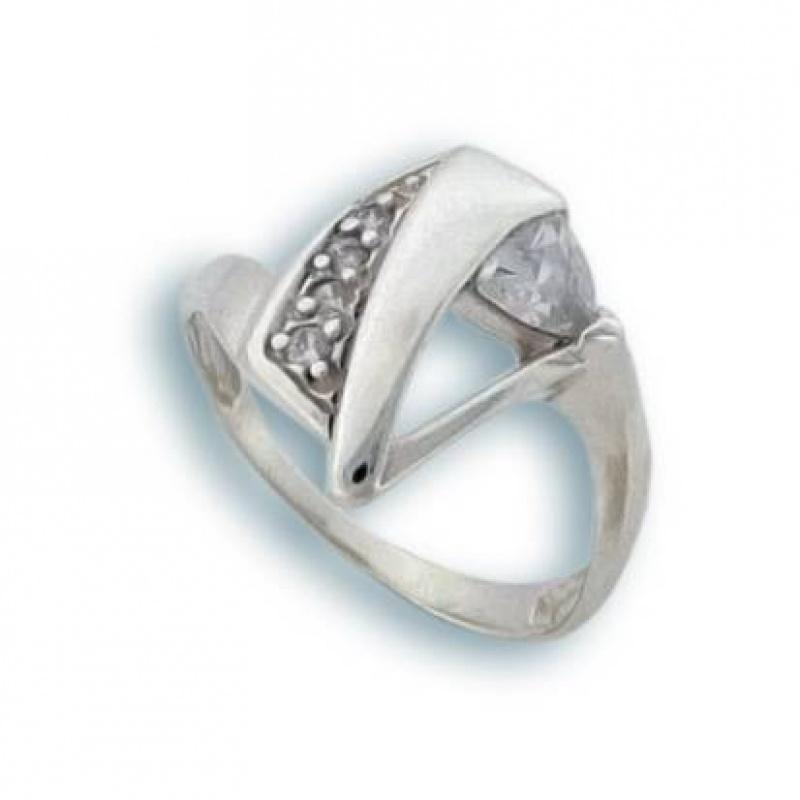 Kanela - Сребърен пръстен с Циркони 1625133-Сребърни бижута