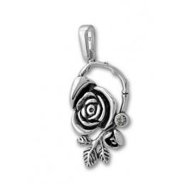 Сребърен медальон с Камък 182897-Медальони