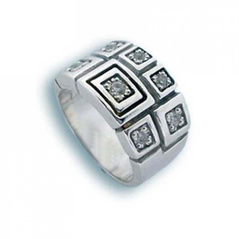 Сребърен пръстен без камък 1615136-Пръстени