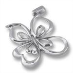 Сребърен медальон без Камък 172847-Медальони