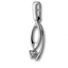 Сребърен медальон с Камък 184474-Медальони
