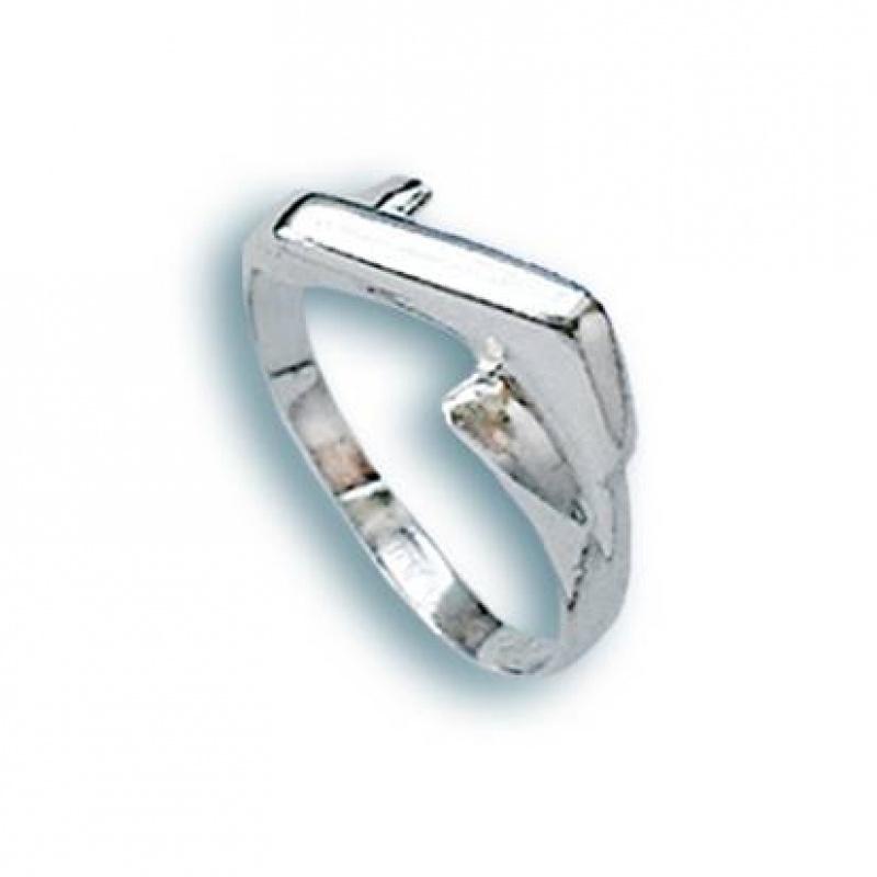 Kony - Сребърен пръстен без камък 1564162-Сребърни бижута