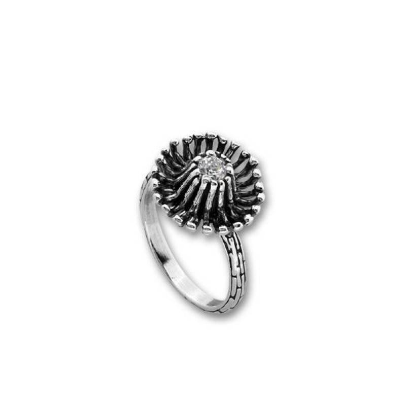 Сребърен пръстен с Камък 1605942-Пръстени
