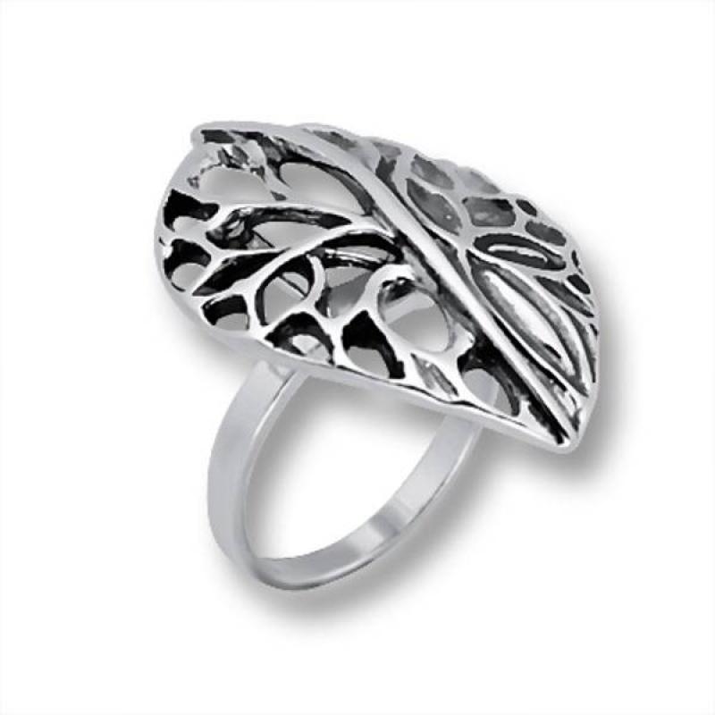 Сребърен пръстен без камък 1535856-Пръстени
