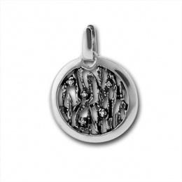 Сребърен медальон без Камък 176881-Медальони