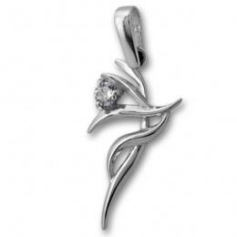 Maricela  - Сребърна висулка с Цирконий 184472-Сребърни бижута