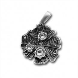 Сребърен медальон без Камък 172873.1-Медальони