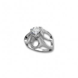 Сребърен пръстен с Камък 1595894-Пръстени