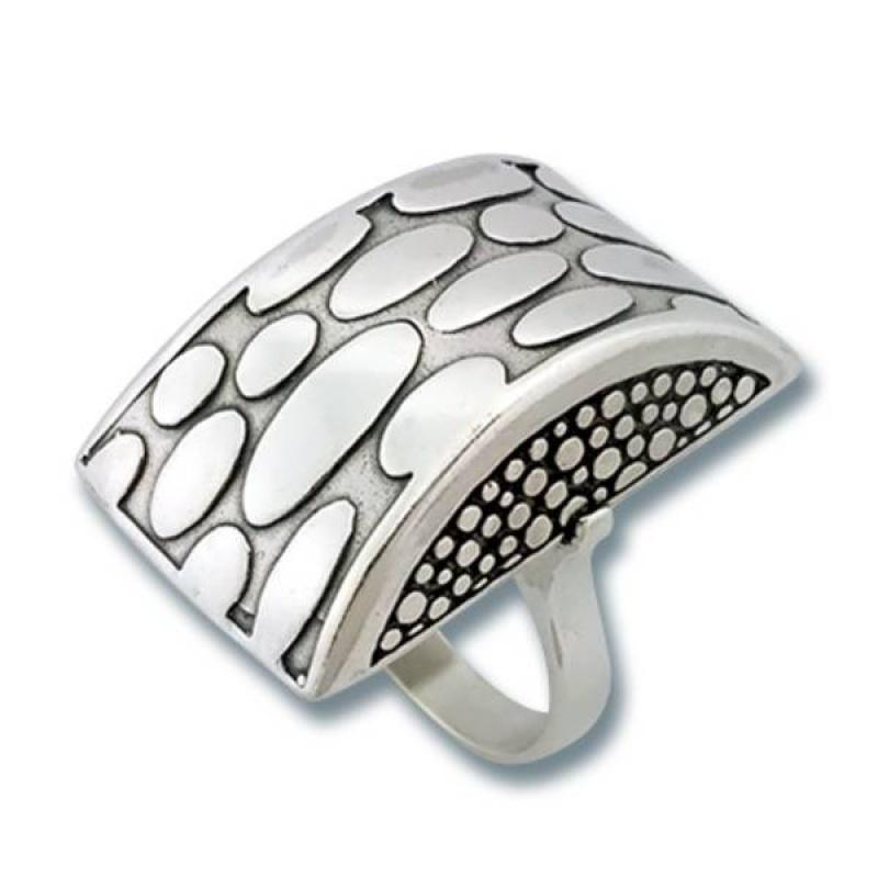 Сребърен пръстен без камък 1515837-Пръстени