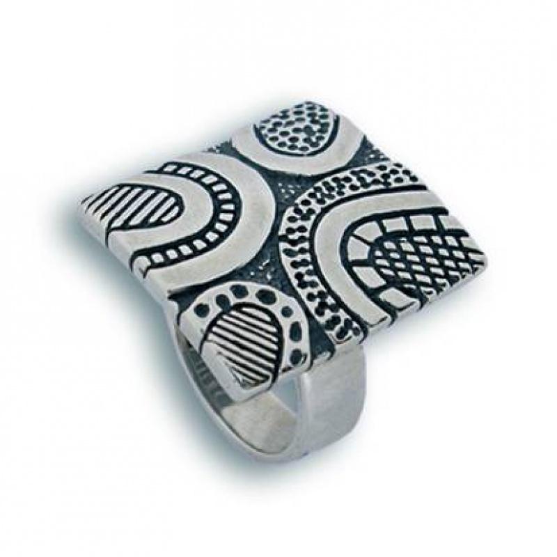 Сребърен пръстен без камък 1515422-Пръстени